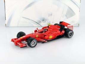 Kimi Raikkonen Ferrari F2007 #6 World Champion Formula 1 2007 1:18 HotWheels