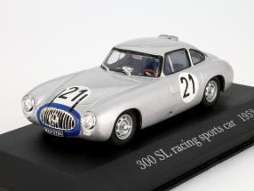 Mercedes-Benz 300 SL #21 racing sports car 1952 1:43 Altaya