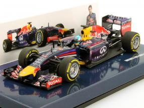 Sebastian Vettel Infiniti Red Bull RB10 #1 Formula 1 2014 1:43 Minichamps