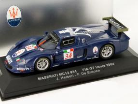 Maserati MC 12 #34 FIA GT Imola 2004 1:43 Ixo