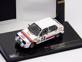 Citroen Visa Chrono #28 Chomat, Breton Rally Monte Carlo 1983 1:43 Ixo