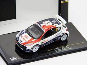 Peugeot 207 S2000 #6 Sarrazin, Renucci 4th Rally Monte Carlo 2010 1:43 Ixo