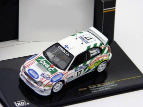 Toyota Corolla WRC #17  Rally Finland 2000 1:43 Ixo