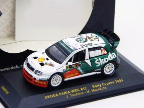 Skoda Fabia WRC #12 Rally Cyprus 2005 1:43 Ixo
