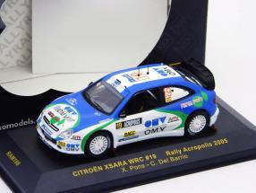 Citroen Xsara WRC #19 Rally Acropolis 2005 1:43 Ixo