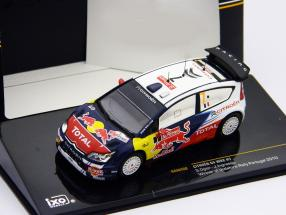 Citroen C4 WRC #7 Ogier, Ingrassia Winner Rally Portugal 2010 1:43 Ixo