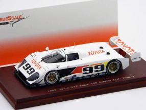 Toyota GTP Eagle #99 Wallace / Fangio Winner 12h Sebring 1993 1:43 TrueScale