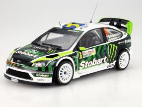 Ford Focus RS WRC08 #6 Rally Bulgaria 2010 Andersson / Andersson 1:18 SunStar