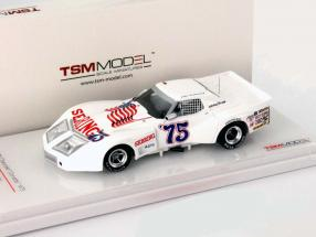 Chevrolet Corvette #75 24h Daytona 1975 Greenwood, Muzzin, Shafer 1:43 TrueScale