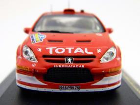 Peugeot 307 WRC #8 Rally Sweden 2005 1:43 Ixo
