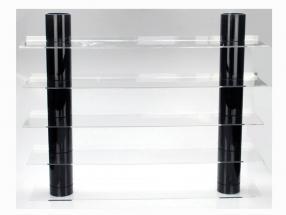 Hängeboard Top View mit schwarzen Säulen SAFE