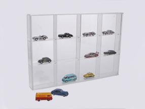 Kleinvitrine aus Acryl-Glas 12 Fächer 350 x 240 x 45 mm SAFE