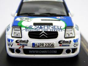 Citroen C2 Super 1600 #54 Rally Germany 2006 1:43 Ixo