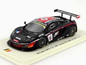 McLaren MP4-12C #98 24h Spa 2014 ART Grand Prix 1:43 Spark