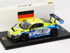 Audi R8 LMS Ultra #16 10th 24h Nürburgring 2014 1:43 Spark