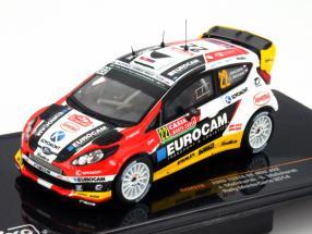 Ford Fiesta RS WRC #22 Rallye Monte Carlo 2014 1:43 Ixo