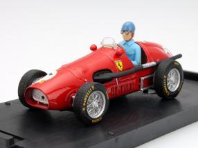 A. Ascari Ferrari 500F2 #5 World Champion GP Great Britain F1 1952 1:43 Brumm