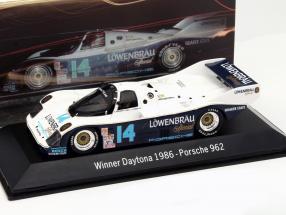 Porsche 962 #14 Winner 24h Daytona 1986 Löwenbräu Holbert Racing 1:43 Spark