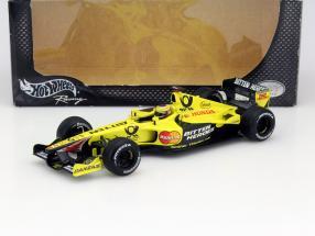 Jarno Trulli Jordan EJ11 #12 Formula 1 2001 1:18 HotWheels