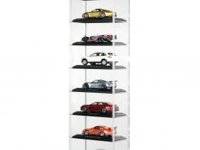 Porsche  Acryl Showcase - stand Version for up to 10 cars in 1:43 Minichamps