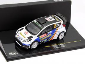 Ford Fiesta RS WRC #12 Rallye Monte Carlo 2014 Delecour, Savignoni 1:43 Ixo