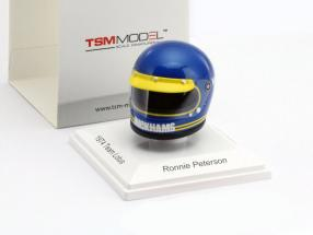Ronnie Peterson John Player Team Lotus Monaco GP F1 1974 Helmet 1:8 TrueScale