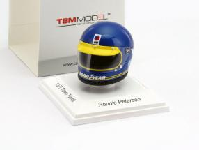 Ronnie Peterson Elf Team Tyrrell Formel 1 1977 Helm 1:8 TrueScale