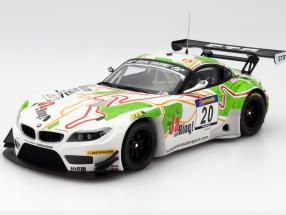 BMW Z4 GT3 #20 6h Ruhr Pokal run 2012 Hürtgen, Posavac, Buchardt 1:18 Minichamps