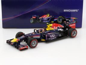 Mark Webber Red Bull RB9 #2 Final GP Brazil formula 1 2013 1:18 Minichamps