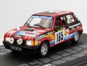 Talbot Samba Rally #165 Rally Monte Carlo 1984 Delecour, Pauwels 1:43 Altaya