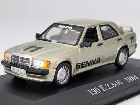 Mercedes-Benz 190 E 2.3-16 #11 Year 1984 Senna 1:43 Altaya