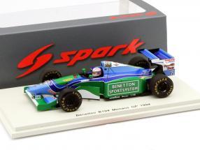 J.J. Lehto Benetton B194 #6 monaco GP formula 1 1994 1:43 Spark