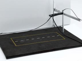 Boxenstopp Diorama Platte Pitlane für Reifenwechsel 1:43 Altaya