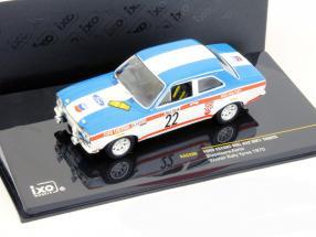 Ford Escort MKI 1600TC #22 Winner Rally Ypres 1970 Stapelaere, Aerts 1:43 Ixo
