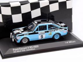 Ford Escort II RS 1800 #9 RAC Rallye 1978 Clark / Wilson 1:43 Minichamps