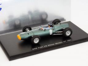 Graham Hill BRM P261 #8 Winner Monaco GP Formel 1 1964 1:43 Spark