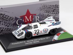 Porsche 917K #22 Winner 24h LeMans 1971 Marko, van Lennep 1:43 CMR