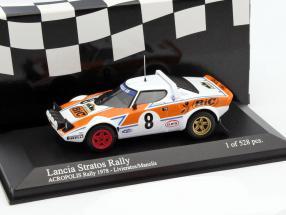 Lancia Stratos #8 Rallye Akropolis 1978 Livieratos, Manolis 1:43 Minichamps