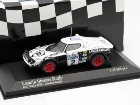 Lancia Stratos #2 RAC Rallye 1979 Alen, Kivimaki 1:43 Minichamps