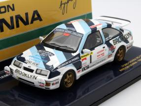 Ford Sierra RS Cosworth #1 Rally Test Car 1986 Senna 1:43 Minichamps