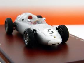 Porsche 718 Formula 2 #5 H. Herrmann 2nd Solitude GP 1960 1:43 TrueScale