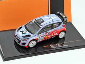 Hyundai i20 WRC #1 Winner Rallye Antibes 2014 Bouffier, Panseri 1:43 Ixo