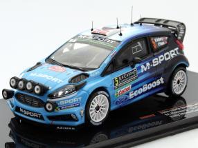 Ford Fiesta RS WRC #5 Rallye Monte Carlo 2016 Ostberg, Floene 1:43 Ixo