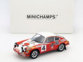Porsche 911S #4 2nd Rallye Monte Carlo 1972 Larousse, Perramond 1:18 Minichamps