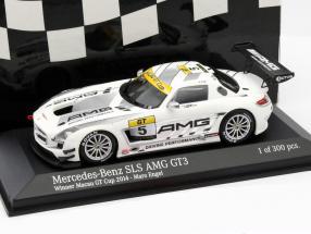 Mercedes-Benz SLS AMG GT3 #5 Winner Macau GT Cup 2014 Tarmac Works 1:43 Minichamps