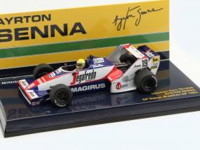 Ayrton Senna Toleman TG183B #19 Brazil GP formula 1 1984 1:43 Minichamps