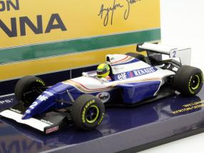 Ayrton Senna Williams FW16 #2 Pacific GP formula 1 1994 1:43 Minichamps