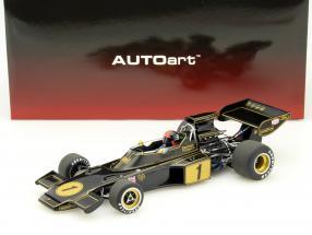 Emerson Fittipaldi Lotus 72E #1 Formel 1 1973 mit Fahrerfigur 1:18 AUTOart