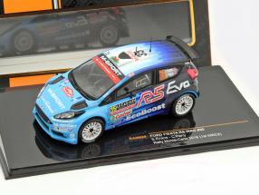 Ford Fiesta RS WRC #35 Rally Monte Carlo 2016 Evans, Parry 1:43 Ixo