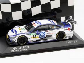 BMW M4 DTM #24 DTM 2014 Maxime Martin 1:43 Minichamps